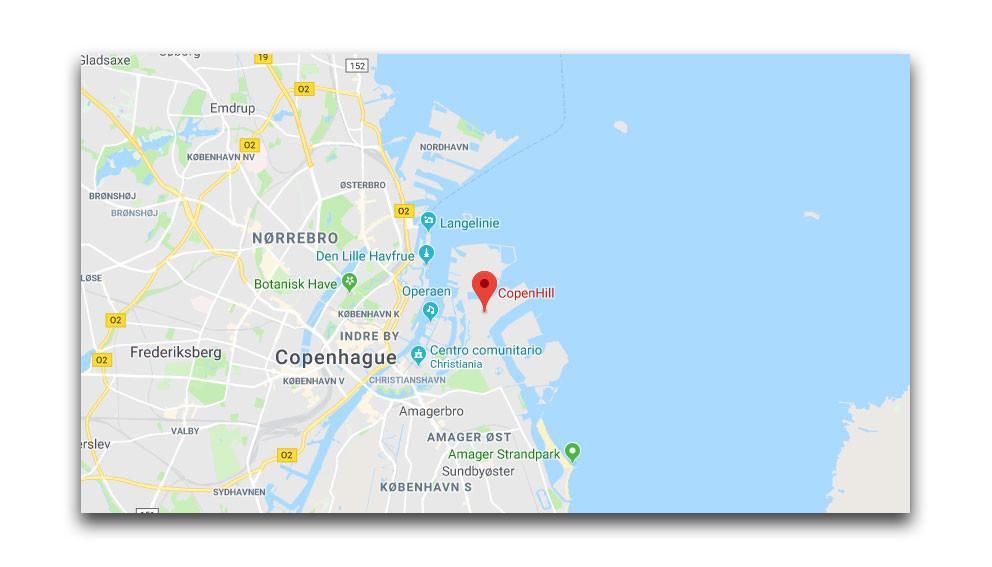 Copenhill Mapa