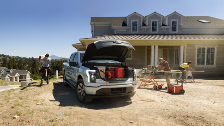 Ford F 150 Lightning Pick Up Electrica 8