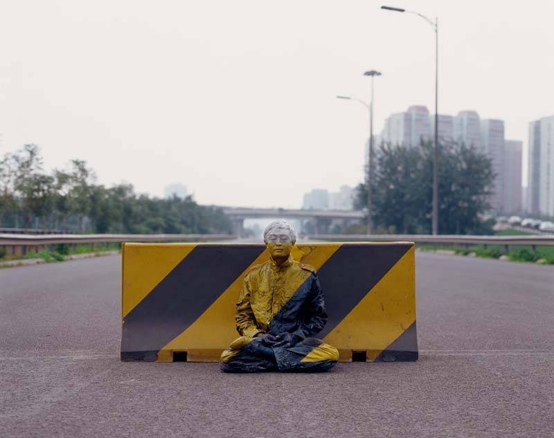 Foto de Hiding in the City: el hombre invisible. Liu Bolin (46/50)