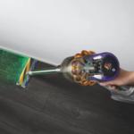 Dyson V15 Detect, aspiradora de mano con detección de polvo por láser para dejar el suelo impoluto