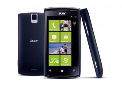 Podemos esperar teléfonos Windows por parte de Acer en el Mobile World Congress