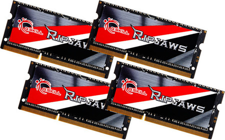 G.Skill anuncia kit Ripjaws de 32GB con frecuencia 2133 MHz para portátiles