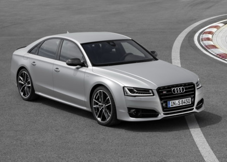"""Audi S8 Plus, con """"Plus"""" de más potencia"""