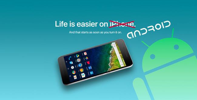 Pasar de iOS℗ a Android