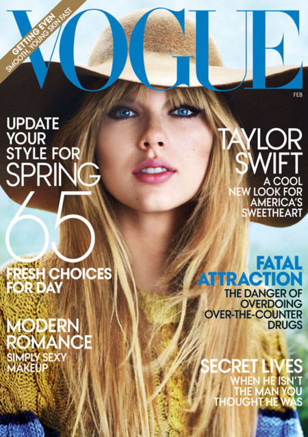 taylor swift vogue us