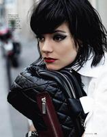 El look de Lily Allen para Karl Lagerfeld