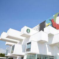La tienda Starbucks más original está en Taiwan es ecológica y se apunta a la moda de los contenedores