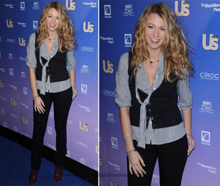 blake lively us weekly party