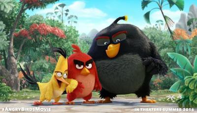 'Angry Birds', primera imagen y reparto de la adaptación del videojuego