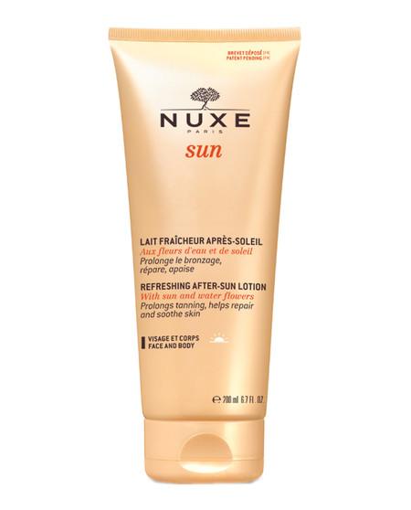 Leche Facial Y Corporal Refrescante Para Despues Del Sol De Nuxe Sun