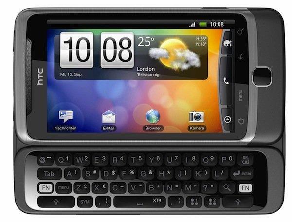 HTC Desire Z estrena nuevo HTC Sense, en octubre con Vodafone