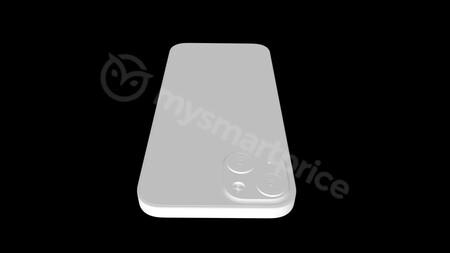 Aparece un render del iPhone 13 con una distribución de cámaras diagonal