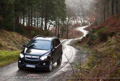Opel Antara 2011, presentación y prueba en Escocia (parte 2)