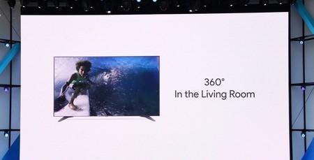 Google llevará los vídeos de YouTube en 360 grados  a las smart TV