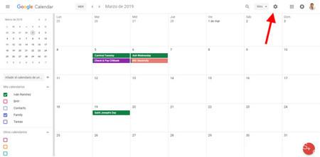 Semana Calendario.Como Mostrar El Numero De Semana En Google Calendar