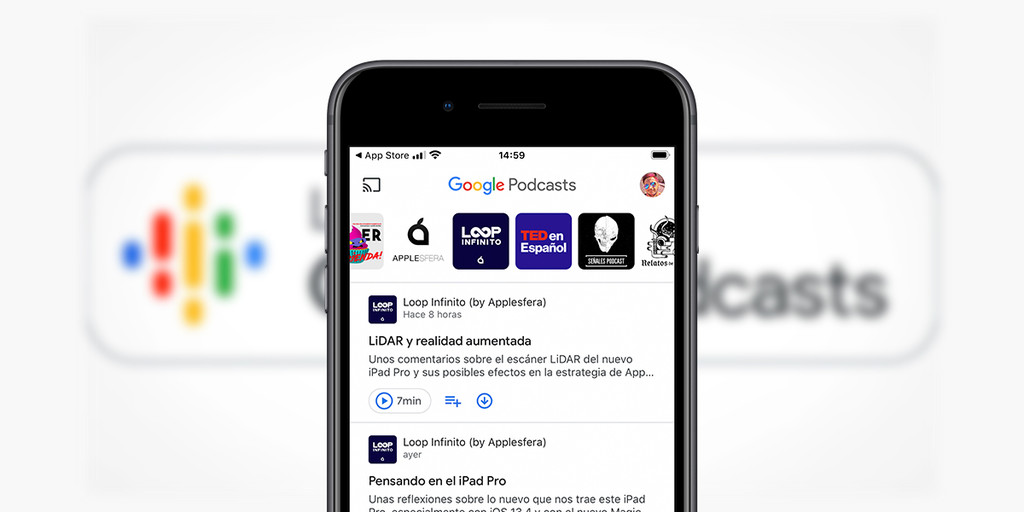 La app Google Podcasts ya está disponible para iPhone en la App Store