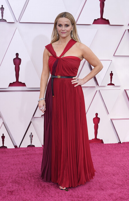 Reese Witherspoon Christian Dior Oscar 2021
