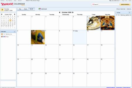 Después de 10 años de pasividad, Yahoo Calendar por fin se actualiza