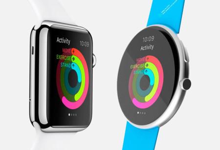 Concepto redondo de Apple Watch