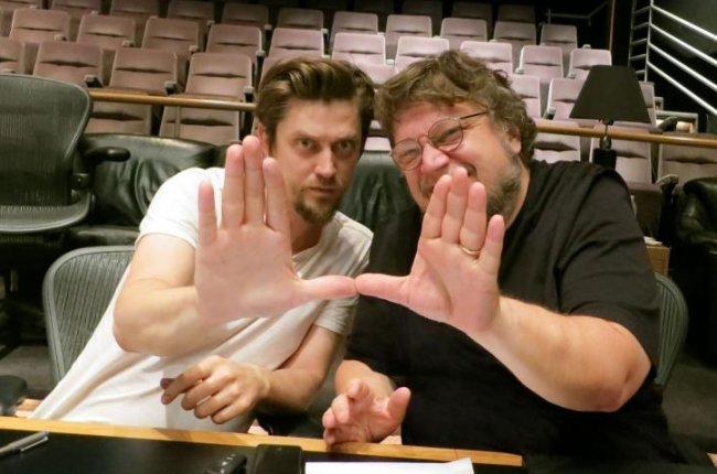 Andrés Muschietti y Guillermo del Toro