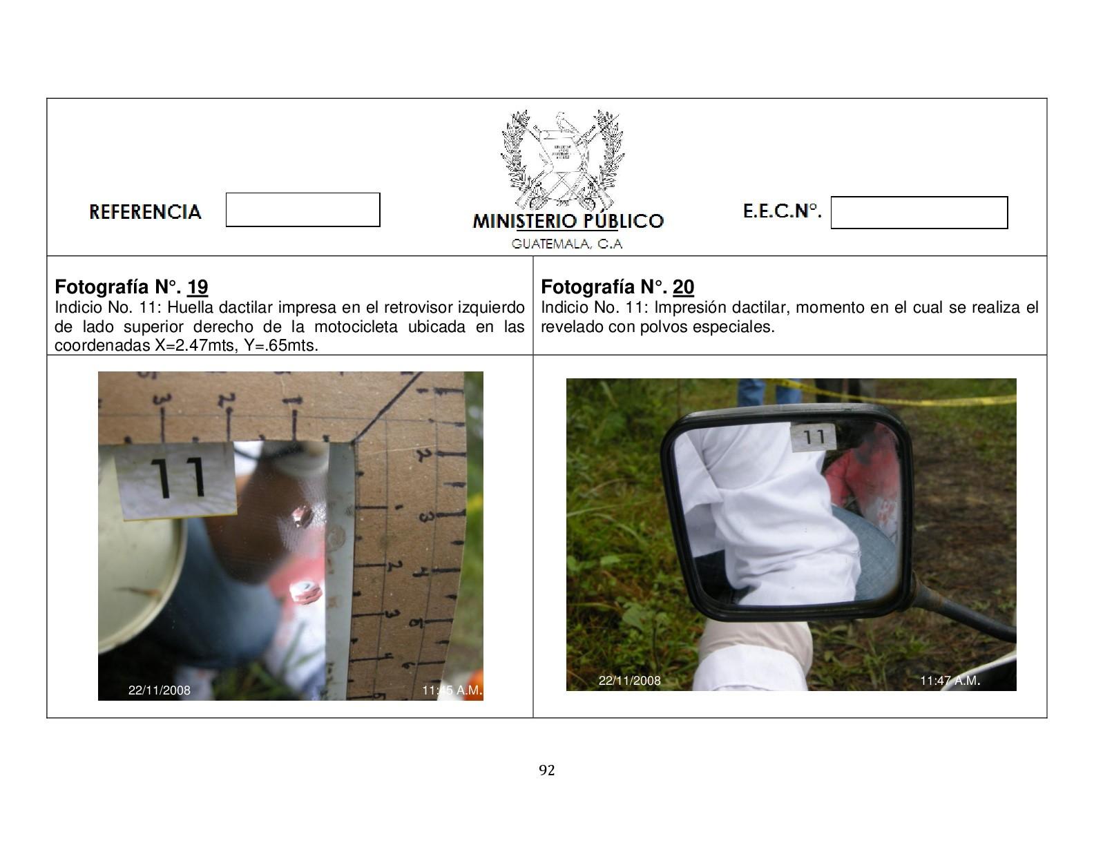 Foto de Simulación balacera contra motorista (10/12)