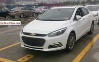 Chevrolet Cruze 2015, avistado en China al natural