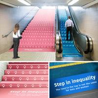 La mejor metáfora de la desigualdad laboral nos la muestra esta campaña de Kazunori Shiina