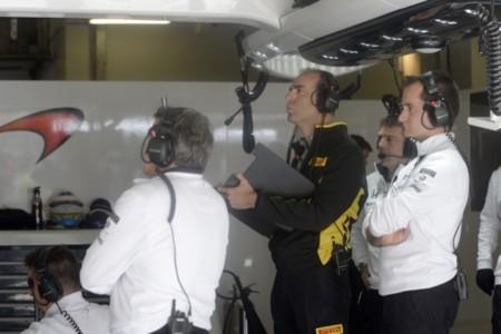 Manuel Munoz, técnico de Pirelli en McLaren
