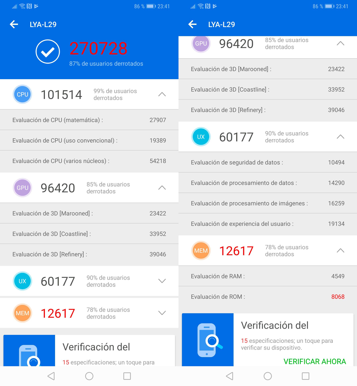 Foto de Huawei Mate 20 Pro, benchmarks (1/5)