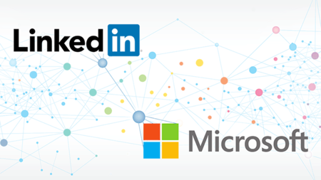 Microsoft Linkedin Blog Share