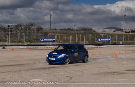 Michelin, Circuito del Jarama, Neumáticos nuevos y neumáticos desgastados a prueba 09