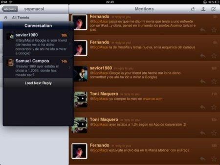 Twitterrific iPad