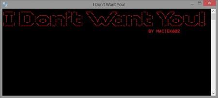 """""""I don't want you"""", una aplicación para respaldar el sistema de Android desde Windows"""