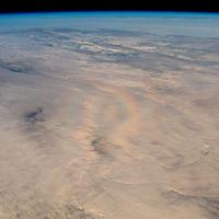 """Ver la """"gloria"""" desde el espacio: el astronauta Alexander Gerst logró capturar un singular fenómeno óptico desde la ISS"""