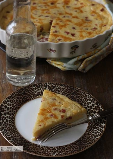 Quiche de quesitos sin base. Receta