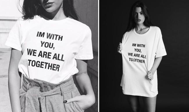 laura escanes camiseta maltrato solidaria