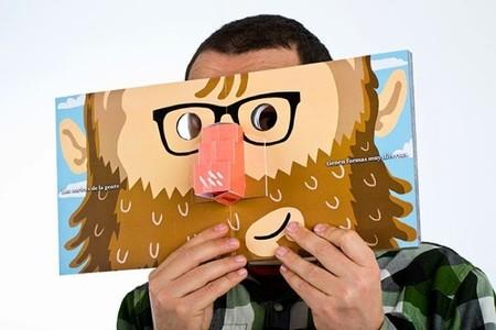 Un libro de narices es un proyecto con desplegables e ilustraciones que busca financiación