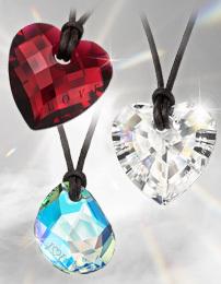 Corazones Swarovski para San Valentín, edición limitada online