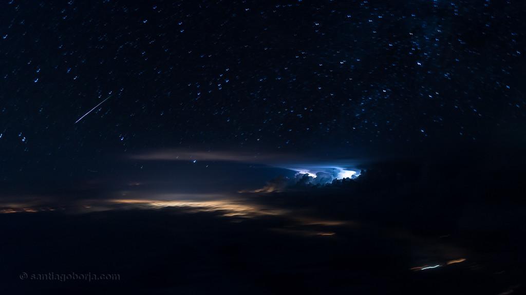 Santiago Borja Fotos Tormentas Desde Avion 2