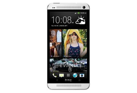 El HTC One o HTC M7 posa en su primera imagen oficial