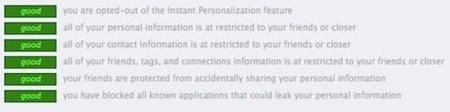 Escanea tu nivel de privacidad en Facebook