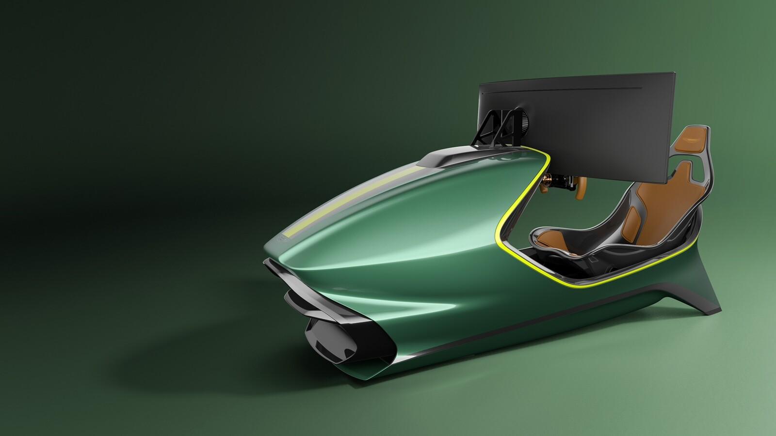 Foto de Simulador Aston Martin AMR-C01 (2/19)