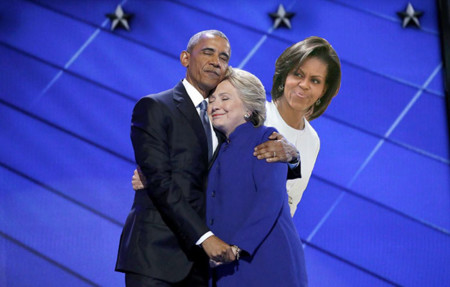 Barack Obama Hillary Clinton Hug Photoshop Battle 7