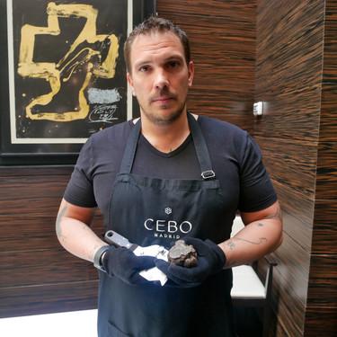 Sacar el máximo partido a la trufa negra según Aurelio Morales, chef de Cebo: cómo escogerla, cómo conservarla, cómo cocinarla