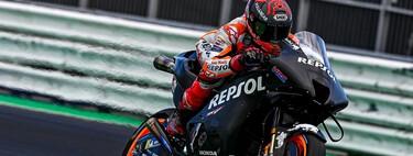 Un primer vistazo a la nueva Honda RC213V, la moto con la que Marc Márquez quiere reconquistar MotoGP en 2022