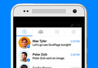 Facebook actualiza su aplicación 'Messenger' sumando la posibilidad de enviar mensajes de video