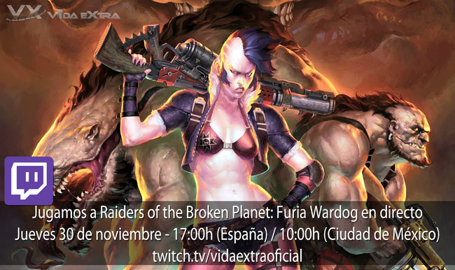 Raiders Of The Broken Planet Wardog Directo