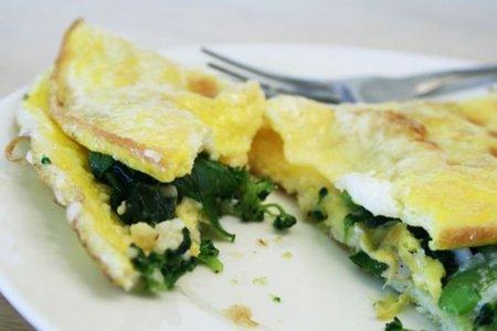 Cocina ligera en verano: Tortilla de espinacas