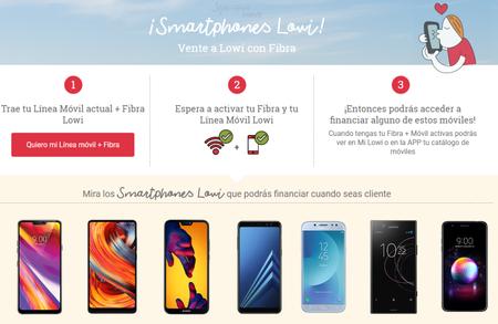 Los smartphones a plazos llegan a la web de Lowi, para nuevos clientes