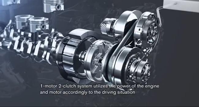 Nissan FR Hybrid System imagen técnica